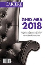 Ghid MBA 2018