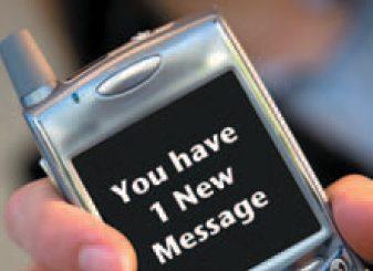 Viciile, livrate prin SMS