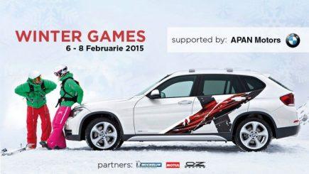 Winter Games, primul eveniment de conducere pe zăpadă din România