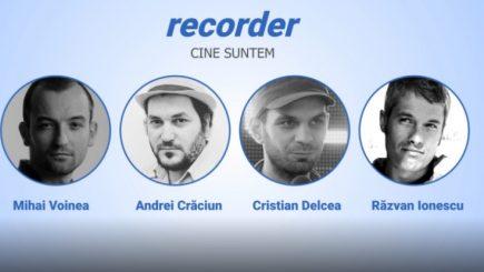 Patru tineri lansează o publicație de video-jurnalism: Prin ce diferă Recorder