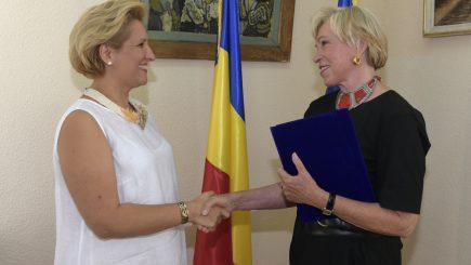 Eveniment la ICR: Ingvild Goetz a primit diploma de Susținător al Culturii Române