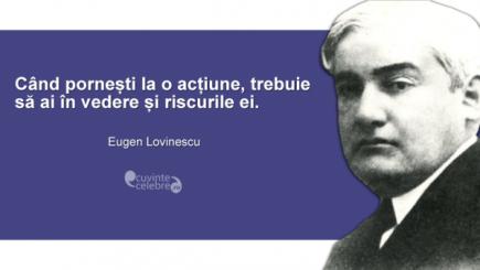 Lovinescu, de la o bancă de universitate pariziană la o catedră de liceu bucureştean