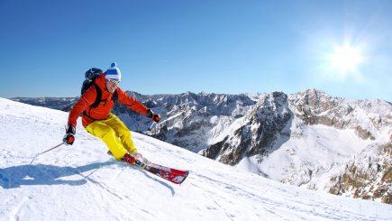 Concurs de ski in Promenada