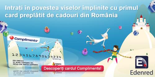Edenred lanseaza primul card preplatit de cadouri adresat in exclusivitate companiilor din Romania