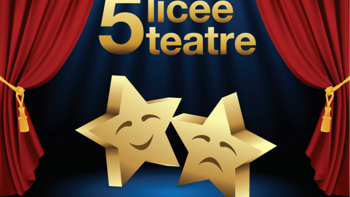 Liceenii sunt premiați la Gala 5 licee – 5 teatre 2017