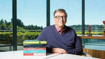 Bill Gates citește 50 de cărți pe an, dar aceasta e favorita lui