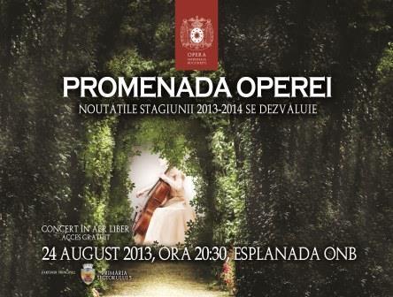 Concert în aer liber, paradă de trăsuri şi maşini de epocă pe esplanada Operei Naţionale Bucureşti