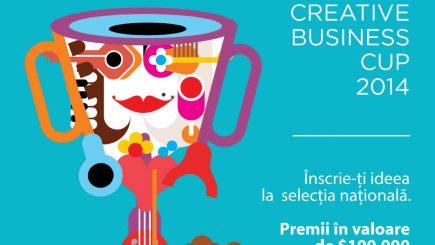 Se cauta antreprenori creativi, la  Creative Business Cup