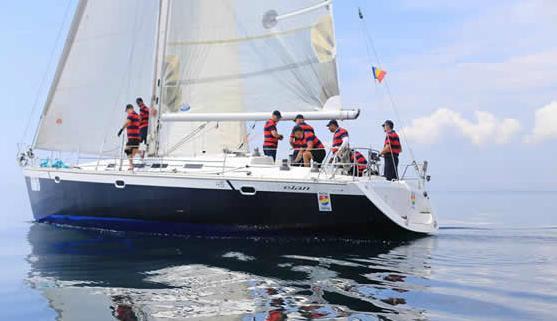 Cursuri de yachting gratuite la Târgul de Turism al României