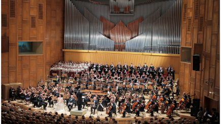 Concert extraordinar de Crăciun pe scena Sălii Radio