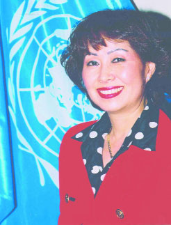 O cariera internationala: Soknan Han Jung