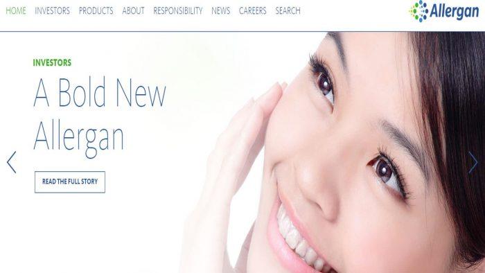 Actavis și-a schimbat numele în Allergan Plc