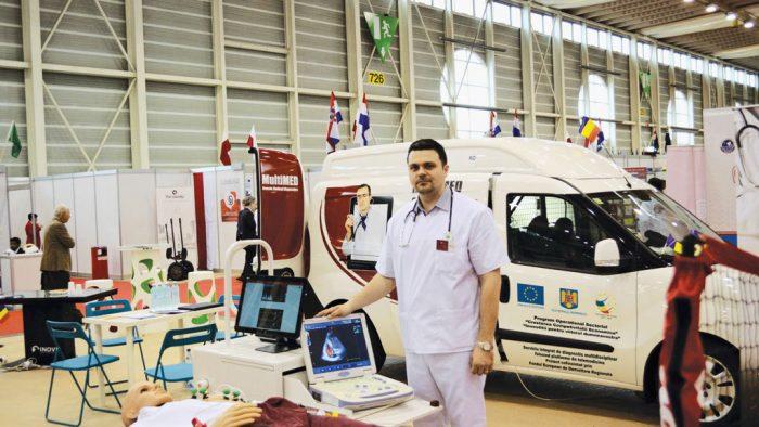 Adrian Bîzgan, de la scannere de avioane la diagnosticarea bolilor în două ore