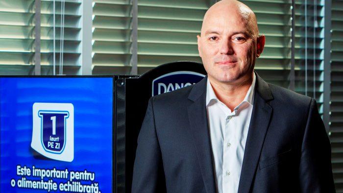Un român, numit director general Danone Europa de Sud-Est