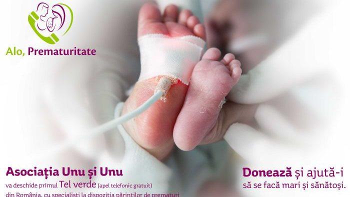 Alo, Prematuritatea – primul sprijin telefonic din România ȋn prematuritate, susținut la Swimathon