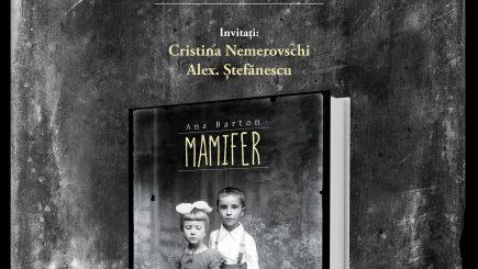 "Lansări de carte la Gaudeamus: ""Mamifer"", de Ana Barton"
