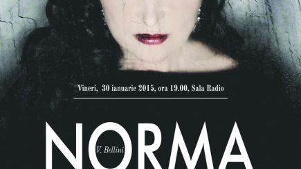 """""""Norma"""" întruchipată de soprana Elena Moşuc, la Sala Radio!"""
