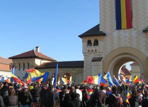 600 de militari: Detașament de onoare la Alba Iulia