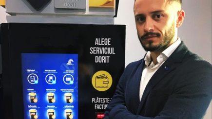 Povestea antreprenorului care vrea să revoluționeze piața de vending din Romania