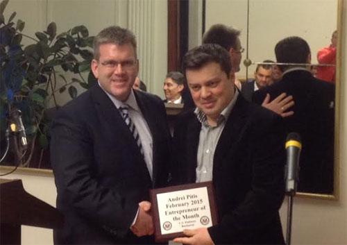 Ambasada SUA l-a premiat pe antreprenorul român al lunii februarie