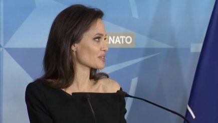 Angelina Jolie va colabora cu NATO