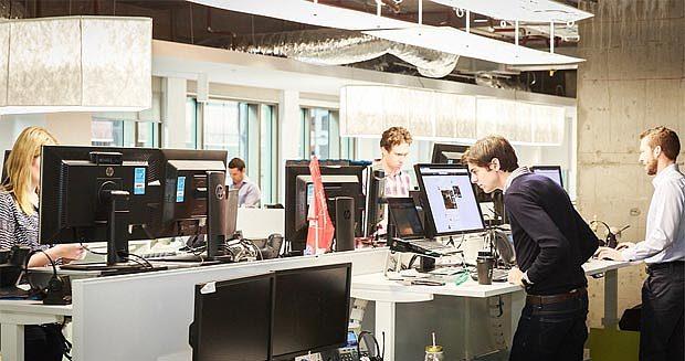 Biroul LinkedIn din Australia, mai mult un spaţiu de joacă decât un loc de muncă