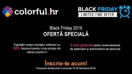 (P) Romanian Software le acordă clienţilor un discount de 50% la achiziţia oricărei licenţe software, cu ocazia Black Friday