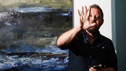 Pictorul român Bogdan Mihai Radu a câştigat premiul I la Oxford International Art Fair 2018