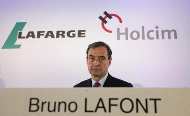 Cât a primit CEO-ul de la Lafarge după fuziunea cu Holcim