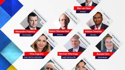 A fost desemnat boardul director al Camerei de Comerţ Olandeze în România