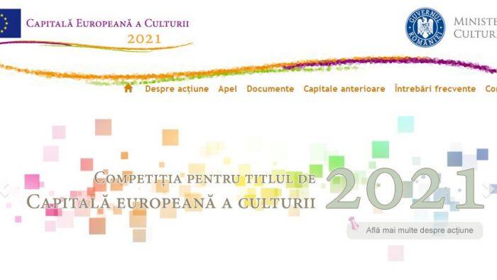 """S-a lansat competiția """"Capitală europeană a culturii pentru anul 2021"""""""