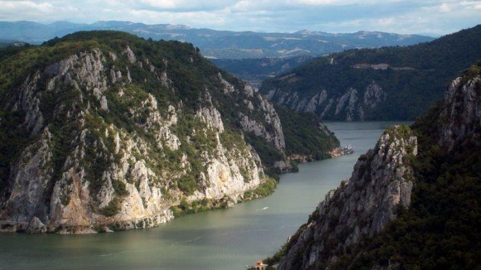 Dunărea, văzută cu Google Street View