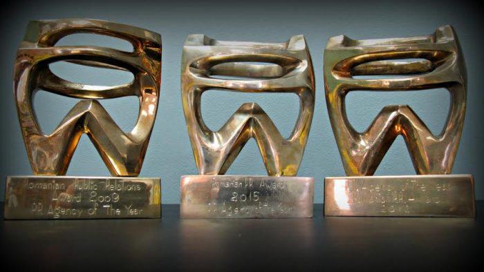 Cea mai premiată agenţie la Romanian PR Award
