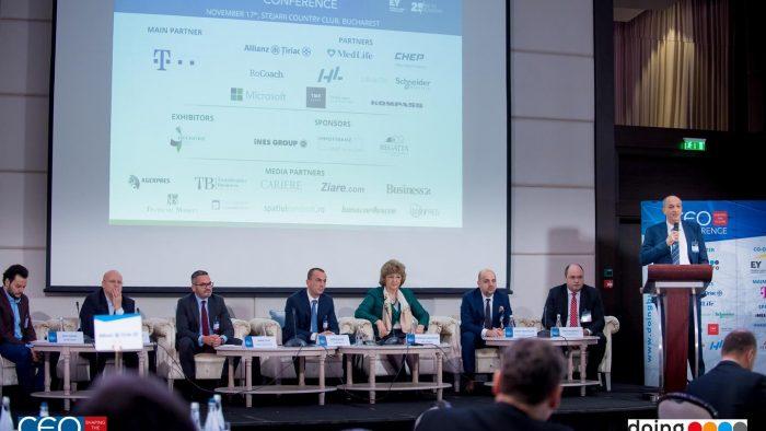 """""""CEO Conference – Shaping the future'', întâlnirea anuală a liderilor celor mai mari companii din Romania"""