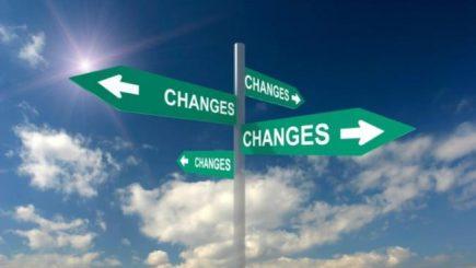 Schimbarea se întâmplă gradual!