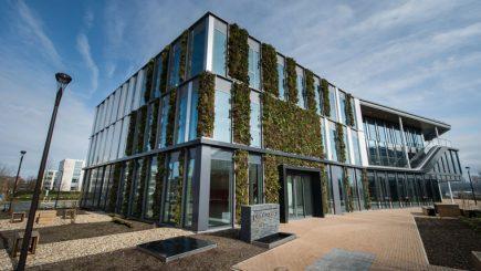 """Cântec urban pentru angajați: Clădirea de birouri care te lasă """"să-ţi auzi gândurile"""""""
