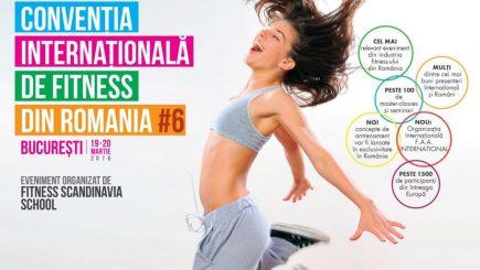 Convenţia Internaţională de Fitness la Bucureşti