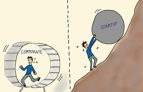 """Corporație vs start-up: Unde te simți """"ca acasă""""?"""