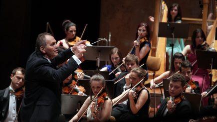 Primul concert al Orchestrei de Tineret România-Moldova