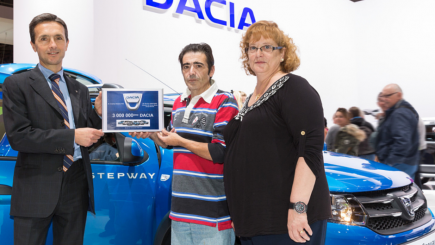 Dacia a vândut 3 milioane de mașini în ultimii 10 ani