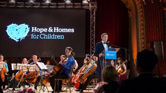800 de oameni au participat la Hope Concert, un spectacol dedicat celor mai vulnerabili copii ai României