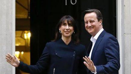 Bancherii londonezi salută victoria lui David Cameron în alegeri