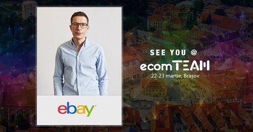 Şeful regional şi şeful de marketing al eBay vin în România