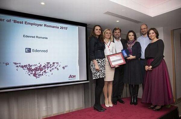 Edenred, desemnată Best Employer în România