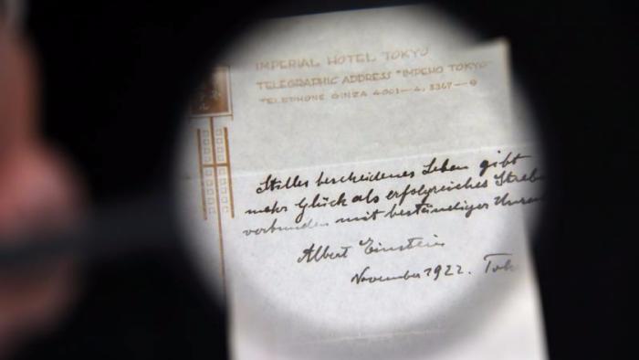 """Ce aduce o viaţă simplă şi liniştită…""""Provocarea"""" bilețelului lui Einstein"""