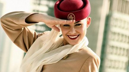 """Cum """"arată"""" un job de stewardesă de lux"""