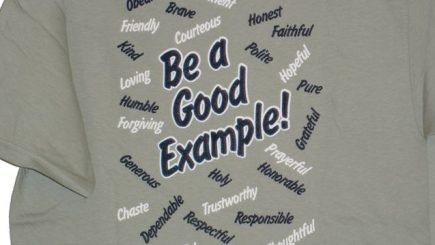 Mai este la modă să fii un exemplu?