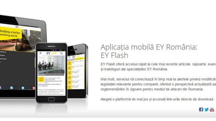 EY Flash, aplicația mobilă care te ține la curent cu răul necesar
