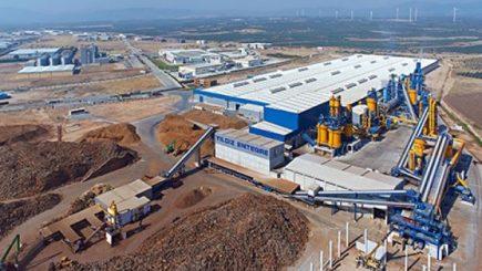 O fabrică din Oarja, centru de export pentru piețe din Asia și Orientul Mijlociu