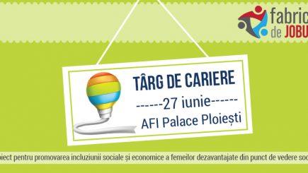 Fabrica de Joburi ajunge la Ploiești pe 27 iunie